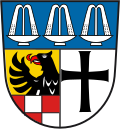 Wappen Landkreis Bad Kissingen