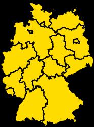 Bundesland Bremen Karte